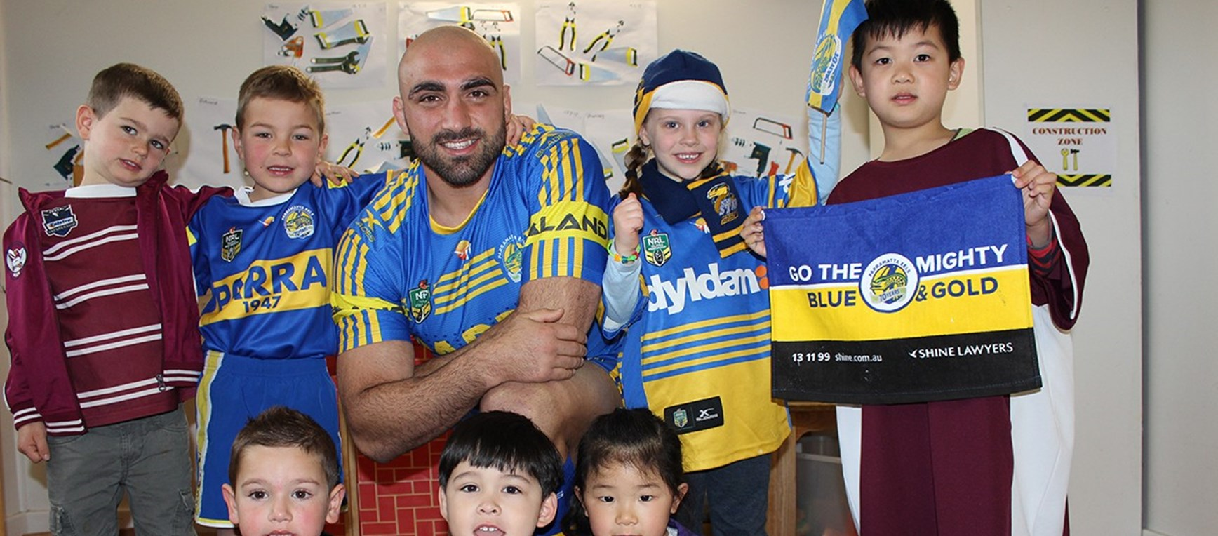 Tim Mannah, Footy Colours Day Ambassador