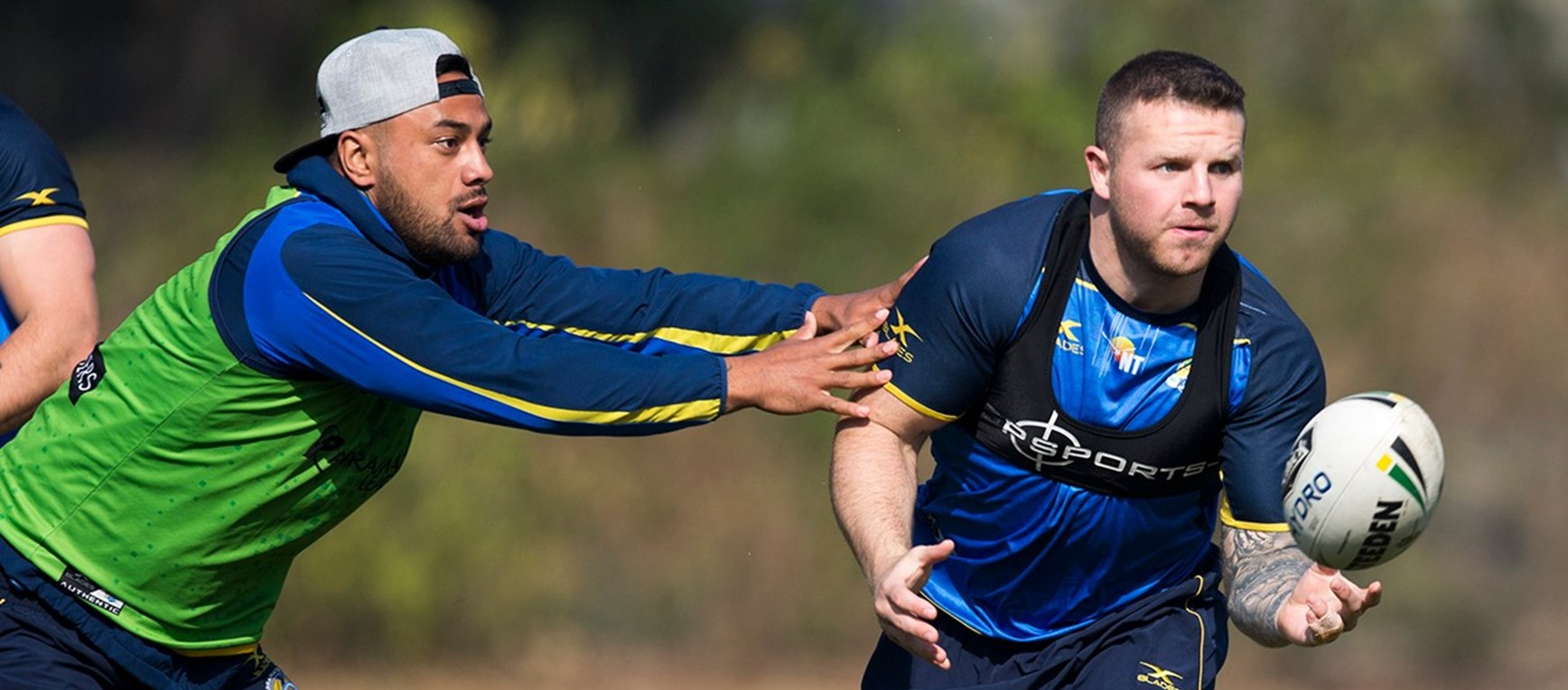 GALLERY | Eels return to training paddock ahead of Titans