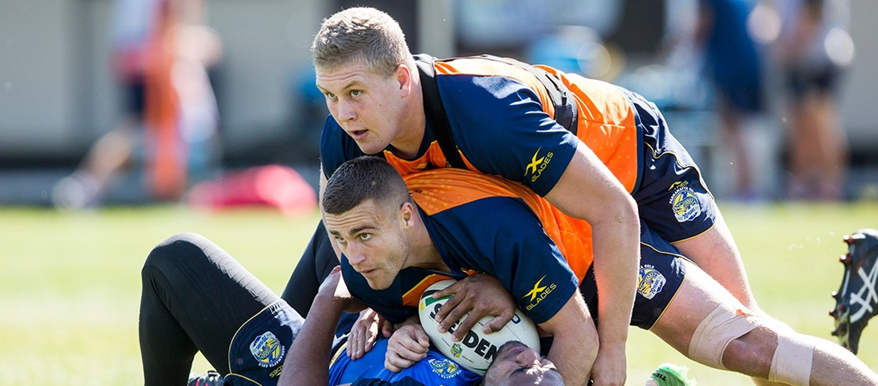 GALLERY | Eels prepare for Storm