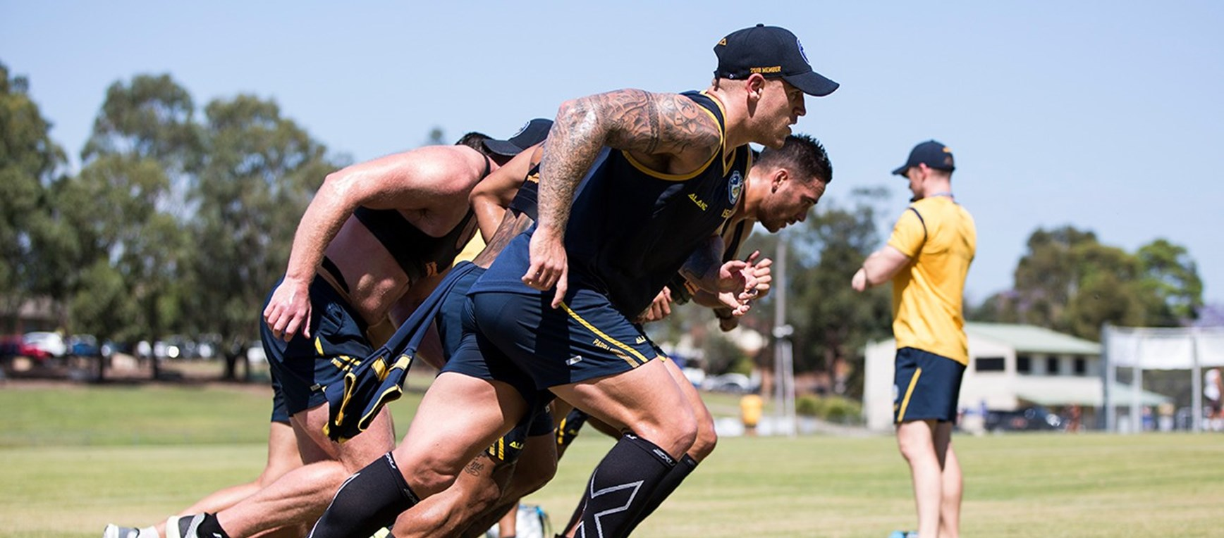 GALLERY | Eels end week with conditioning session