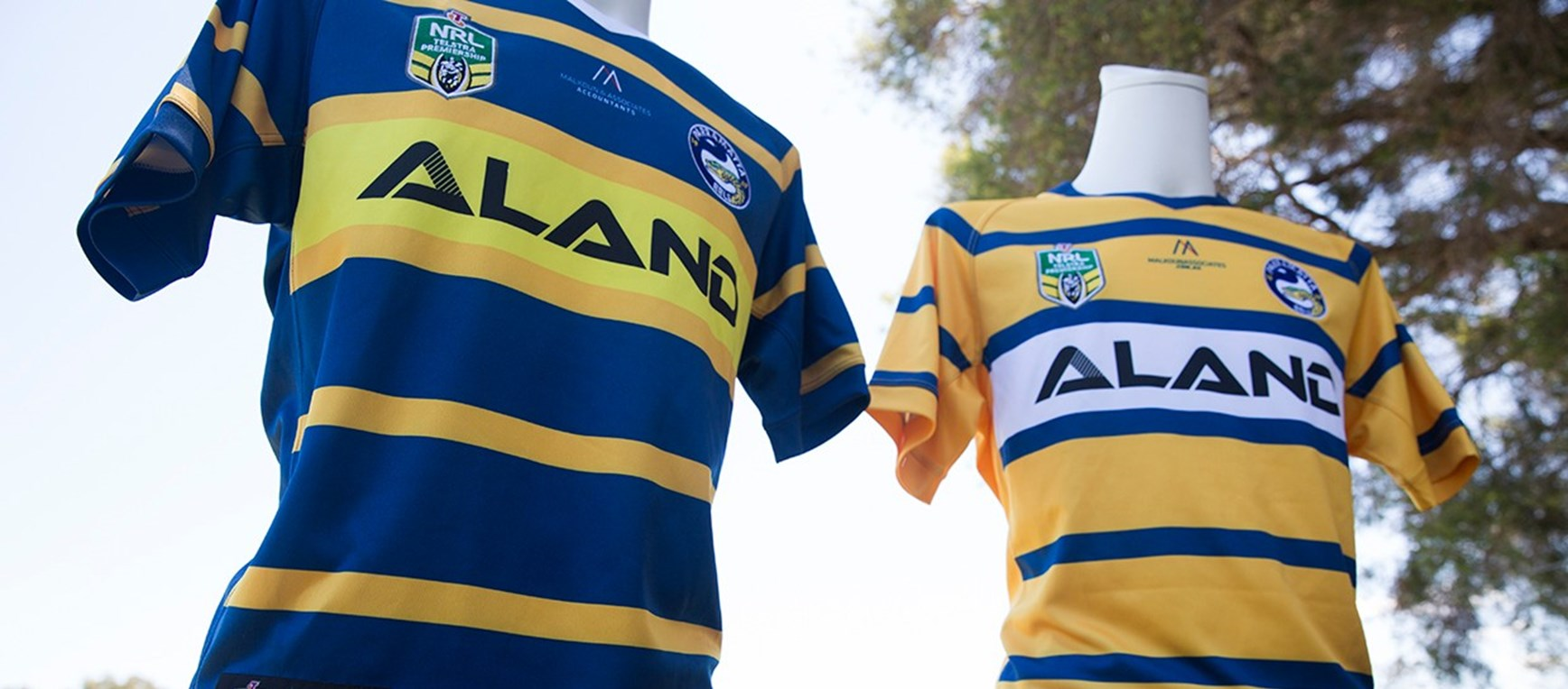 GALLERY | Up close look at the Eels 2018 playing jerseys