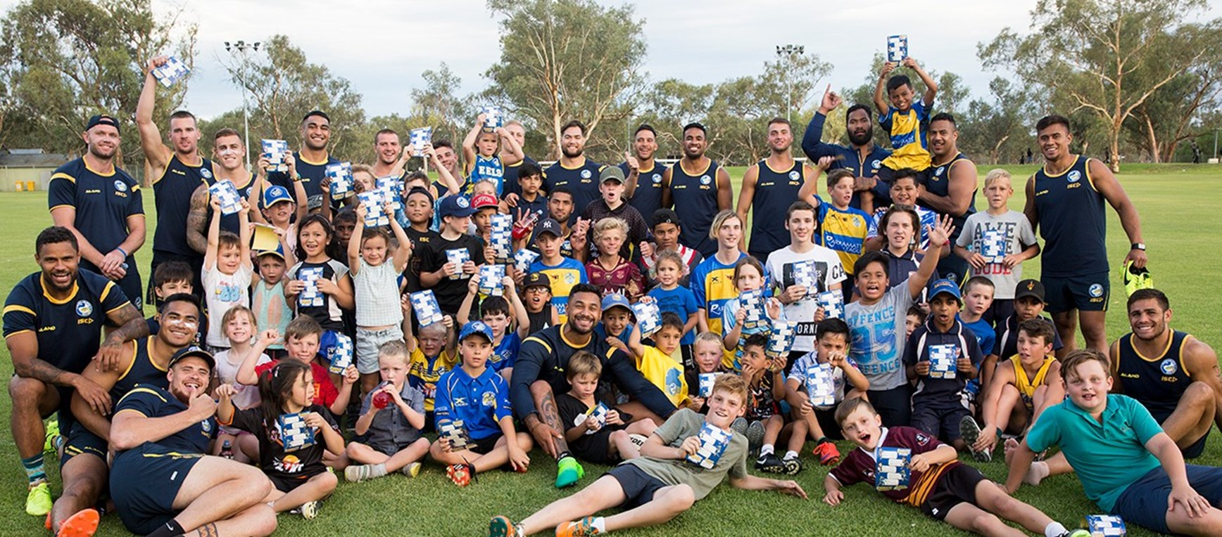 GALLERY | Eels hold Junior Skills Clinic and Coach the Coaches Seminar