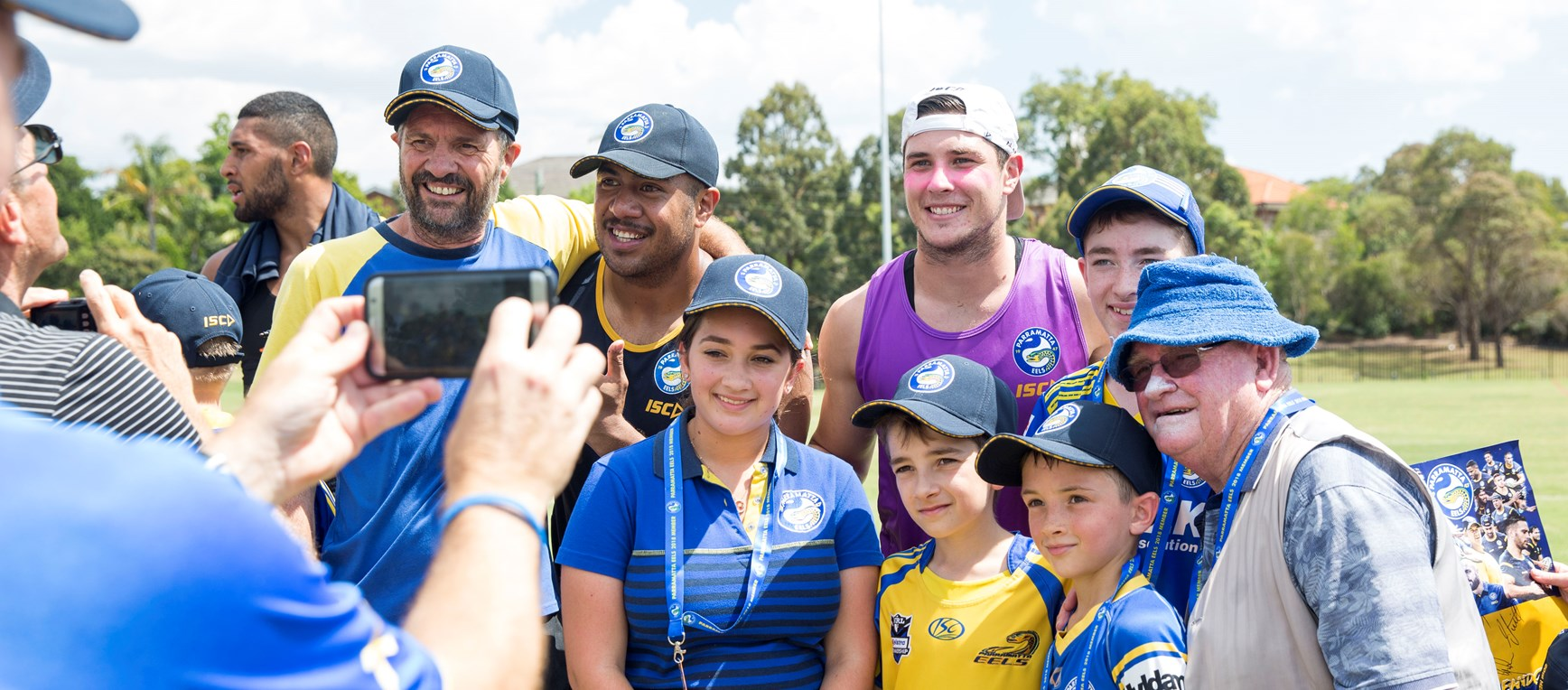 Eels hold Members Open Training Session