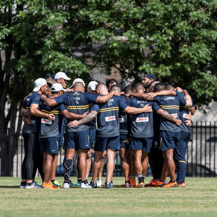 Eels v Panthers Captain's Run