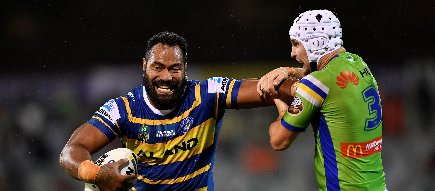 Raiders v Eels in Photos