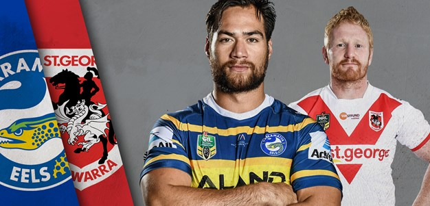 Eels v Dragons, Round 22 Match Preview