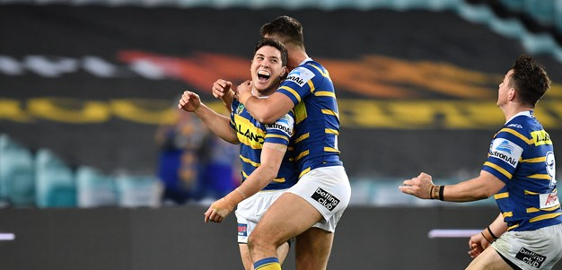 Eels v Dragons - Round 22 in photos