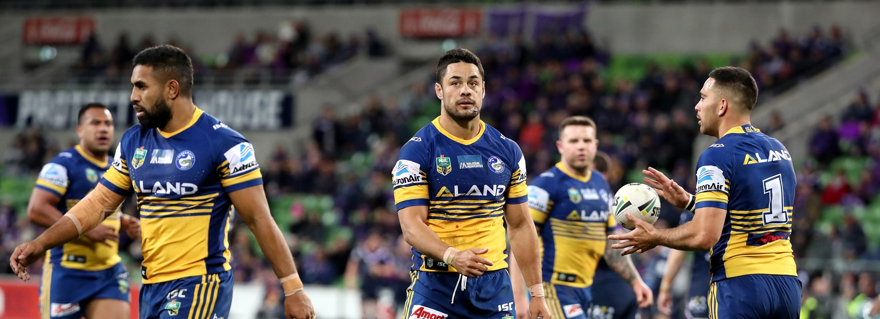 Storm shut down Eels