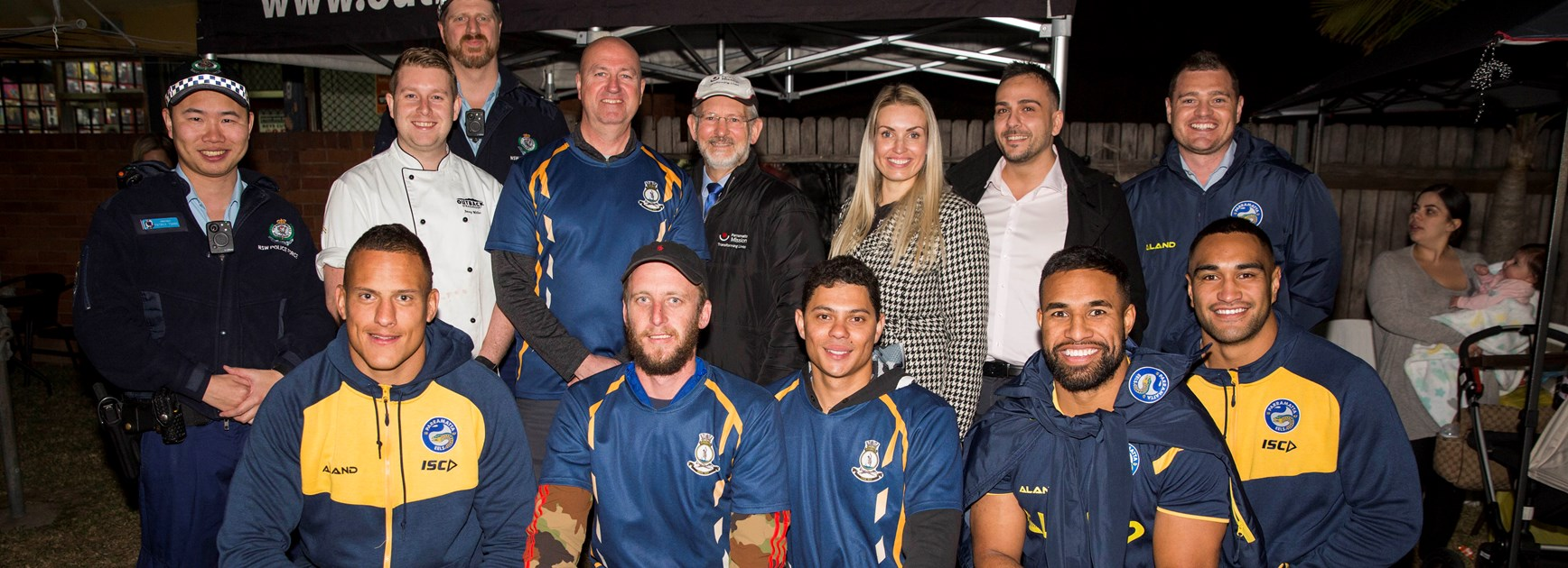 Eels visit Parramatta Mission Youth Hub