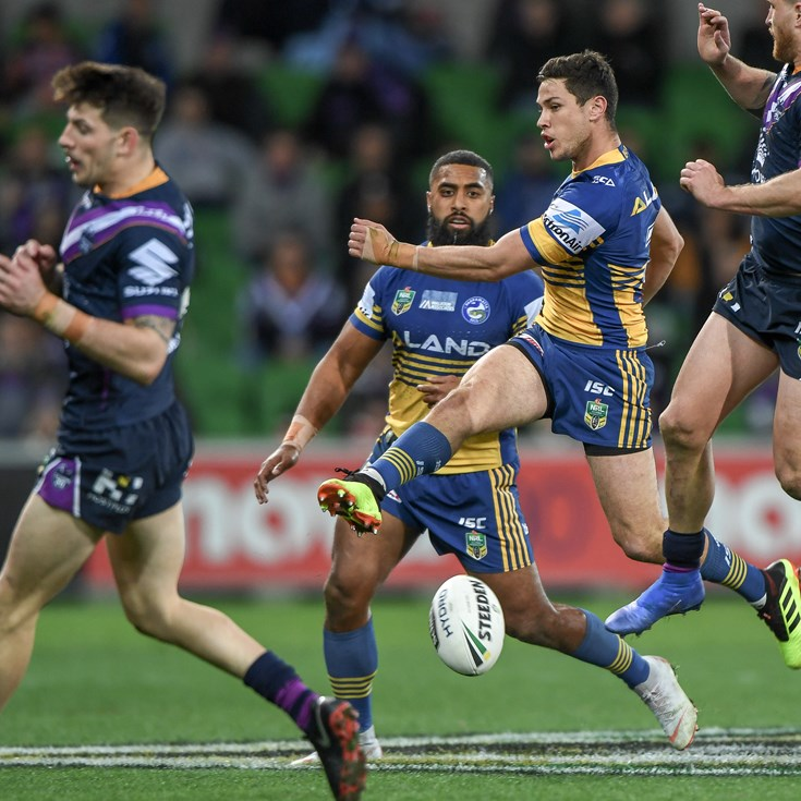 Storm v Eels, Round 23 in photos
