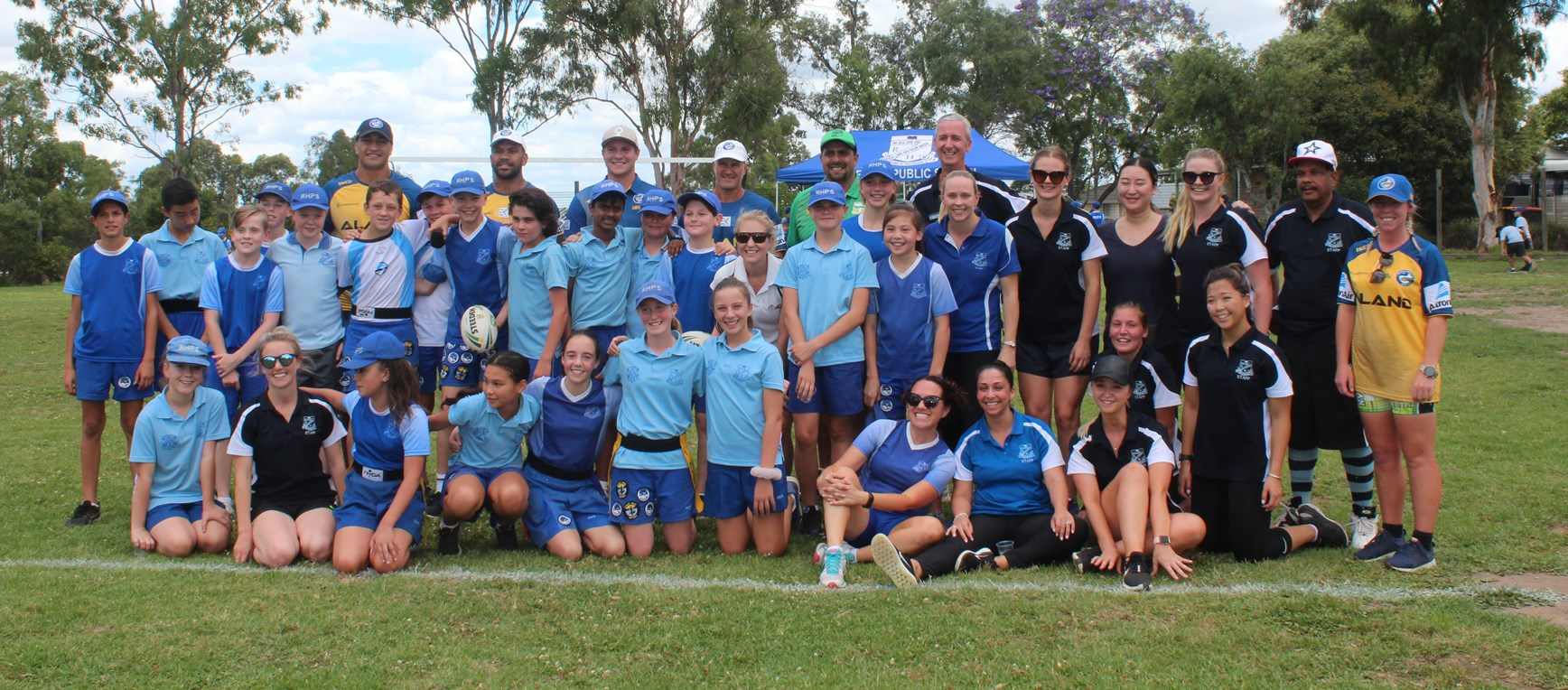 Eels visit Rouse Hill League Tag