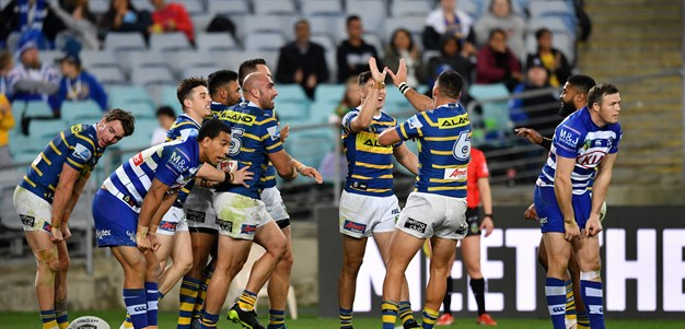 Eels v Bulldogs, Round 19 in photos