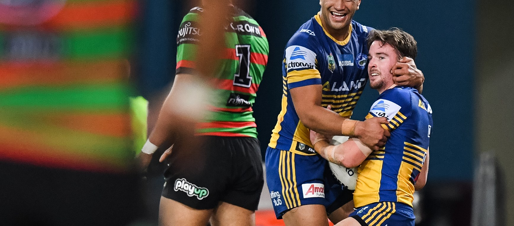 Rabbitohs v Eels, Round 20 in photos