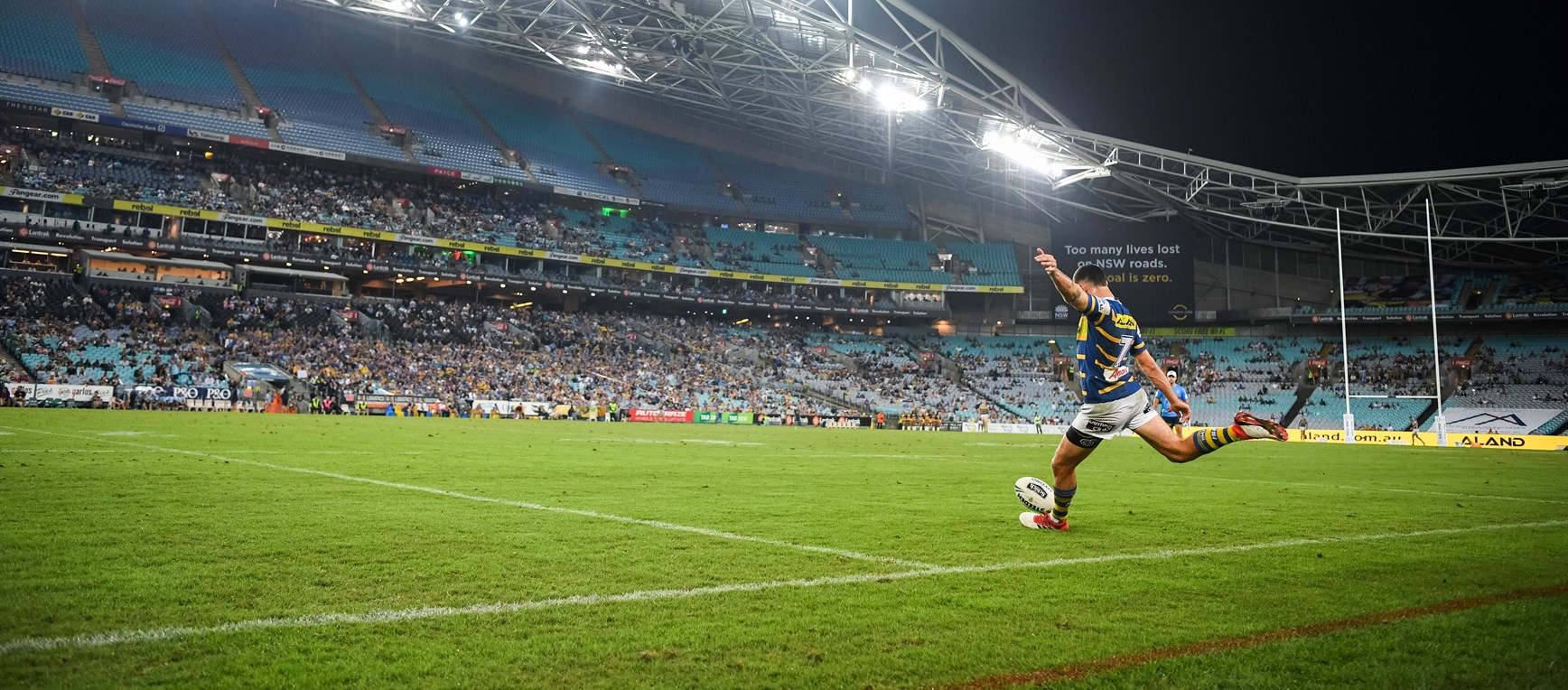 Eels v Sharks - Johnny Mannah Cup in photos