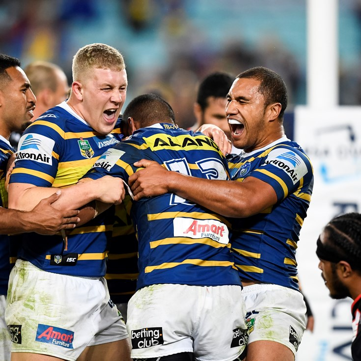 Eels v Warriors, Round 11 in photos