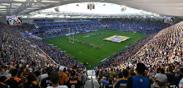 Eels v Wests Tigers - Around the Grounds
