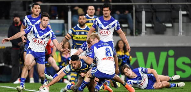 Eels v Bulldogs, Round 23 in photos