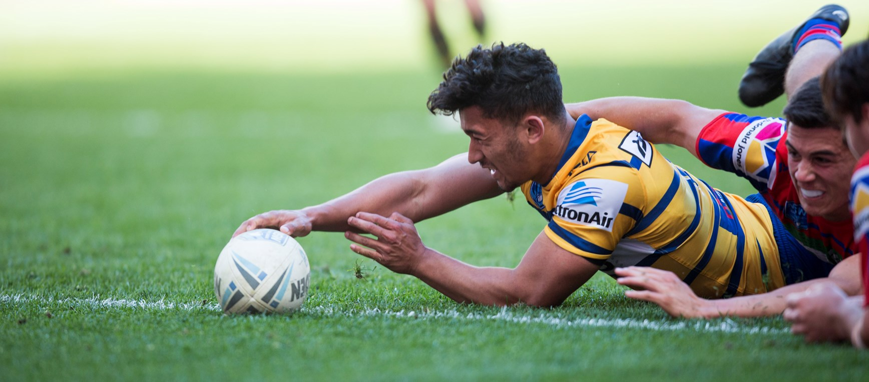 Eels v Knights Jersey Flegg in photos