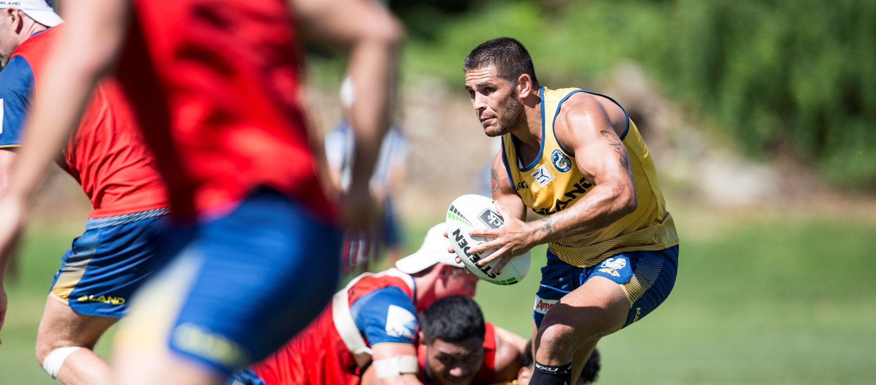 Eels prepare for Panthers trial