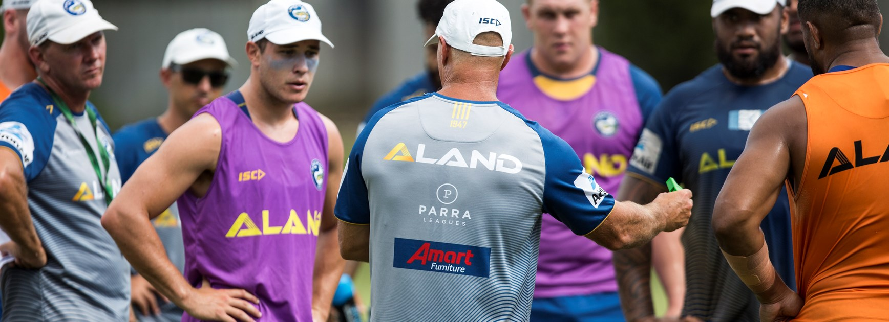 Eels name pre-season trial squad