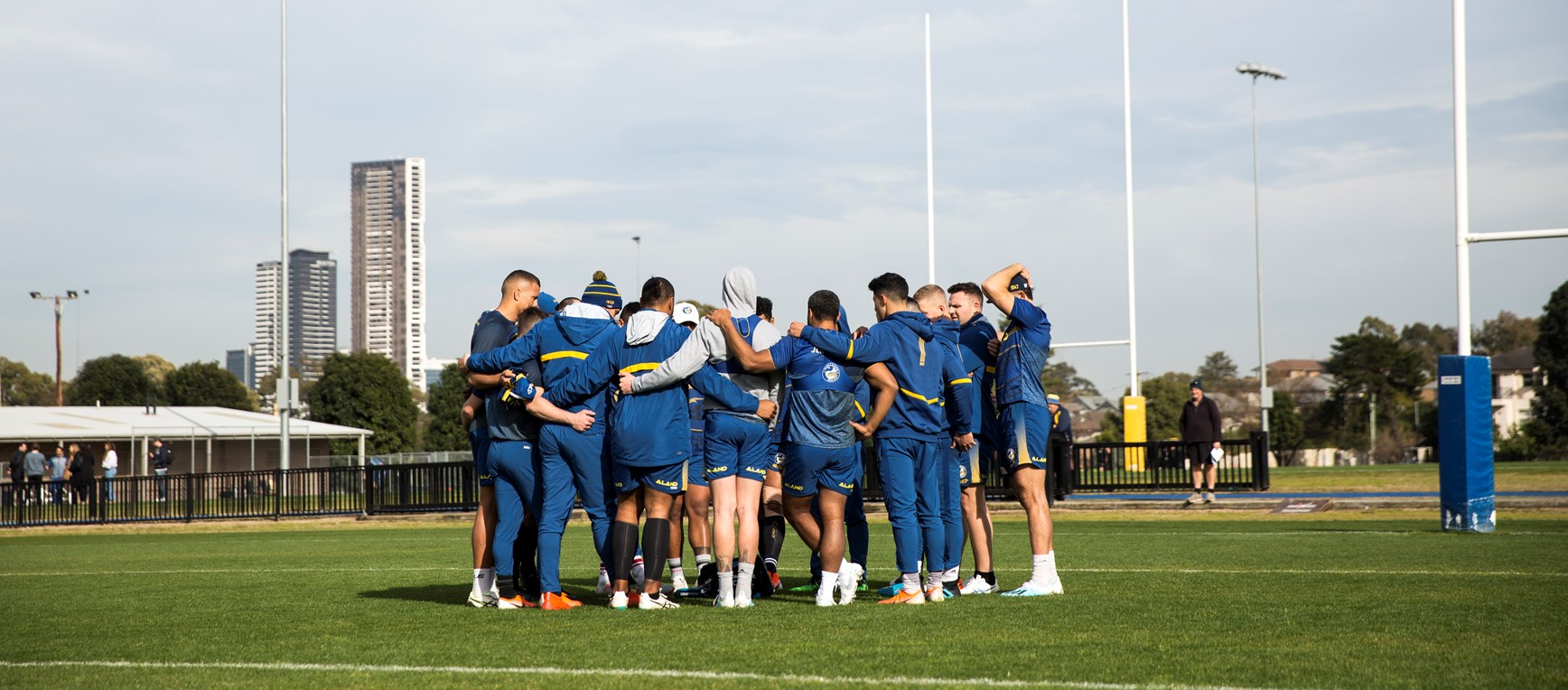 Eels v Warriors, Round 19 Captain's Run