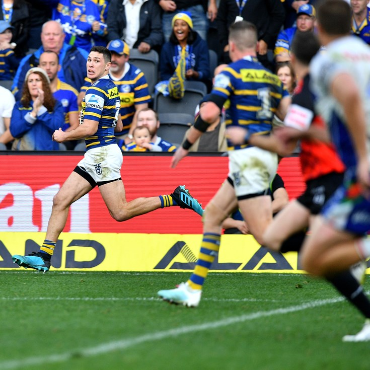 Eels v Warriors, Round 19 in photos