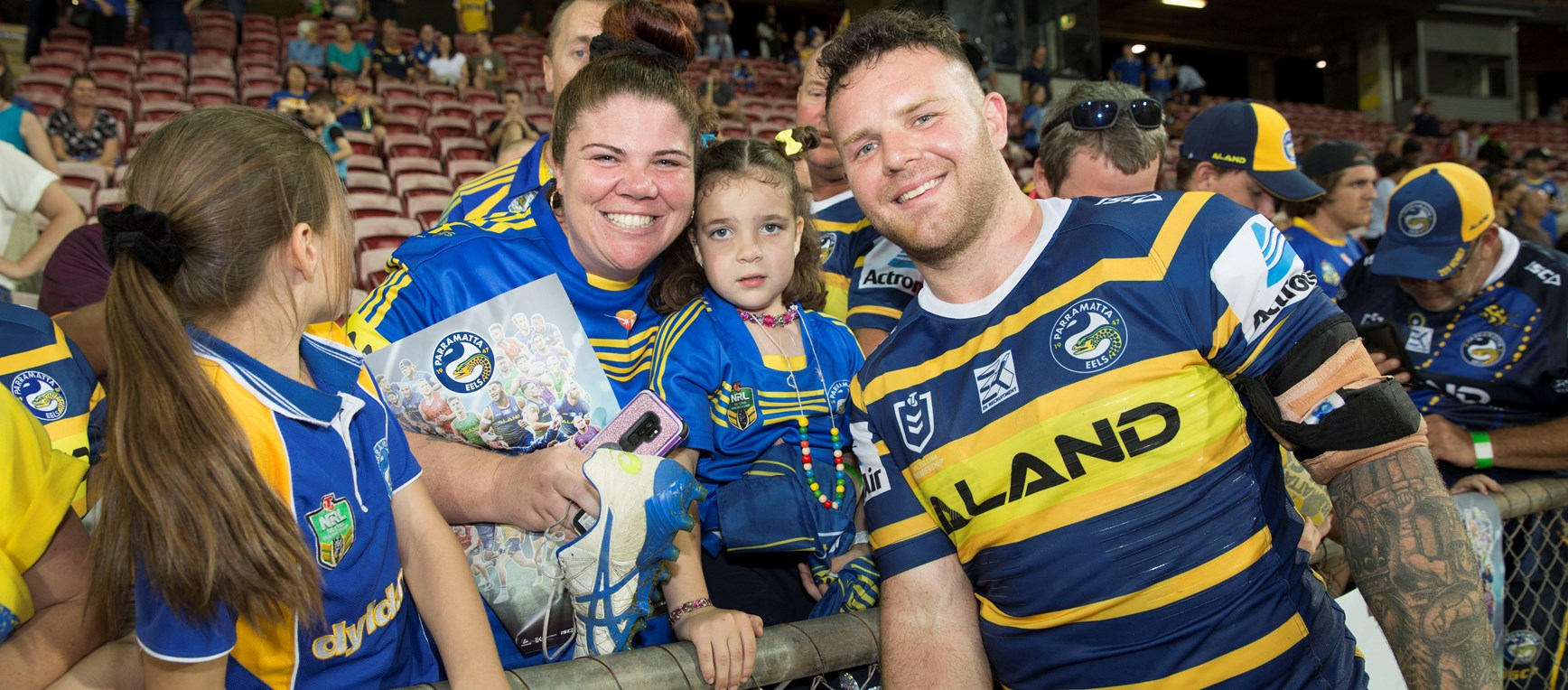 Eels v Raiders, Round 15 - Around the Grounds