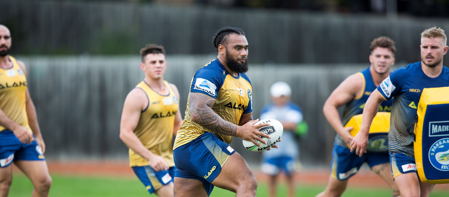 Eels prepare for Bulldogs
