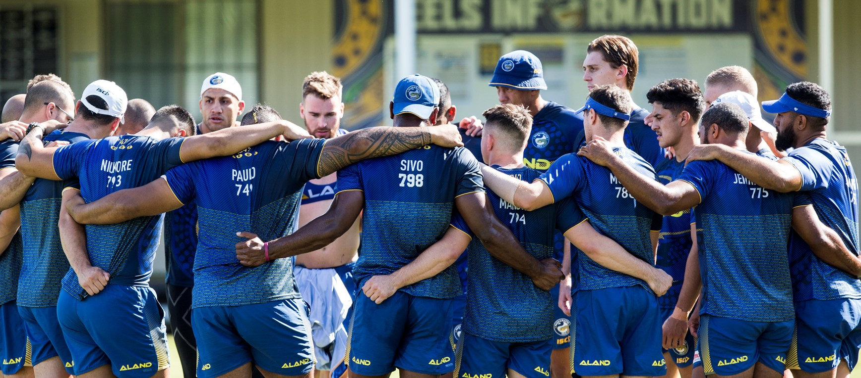 Captain's Run ahead of Roosters clash