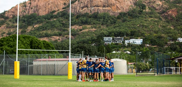 Cowboys v Eels, Captain's Run