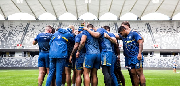 Eels v Dragons Captain's Run