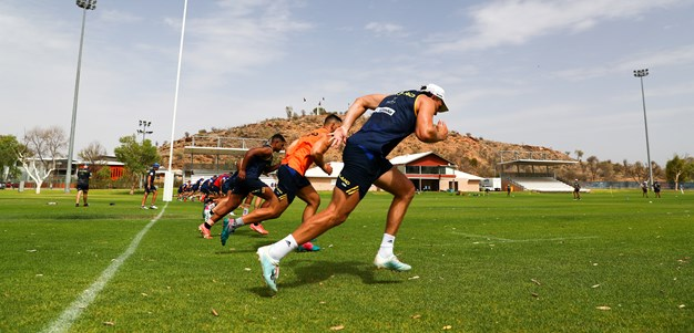 Training heats up in Alice Springs