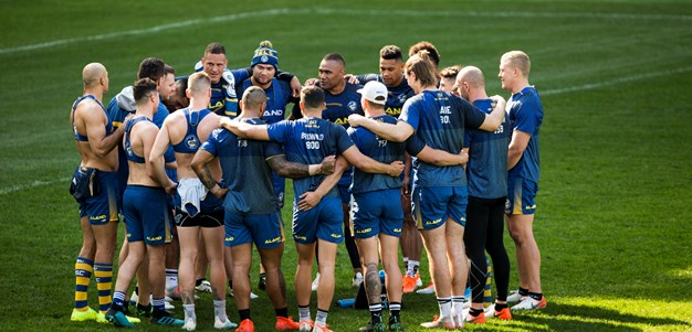 Eels v Sea Eagles, Round 25 Captain's Run