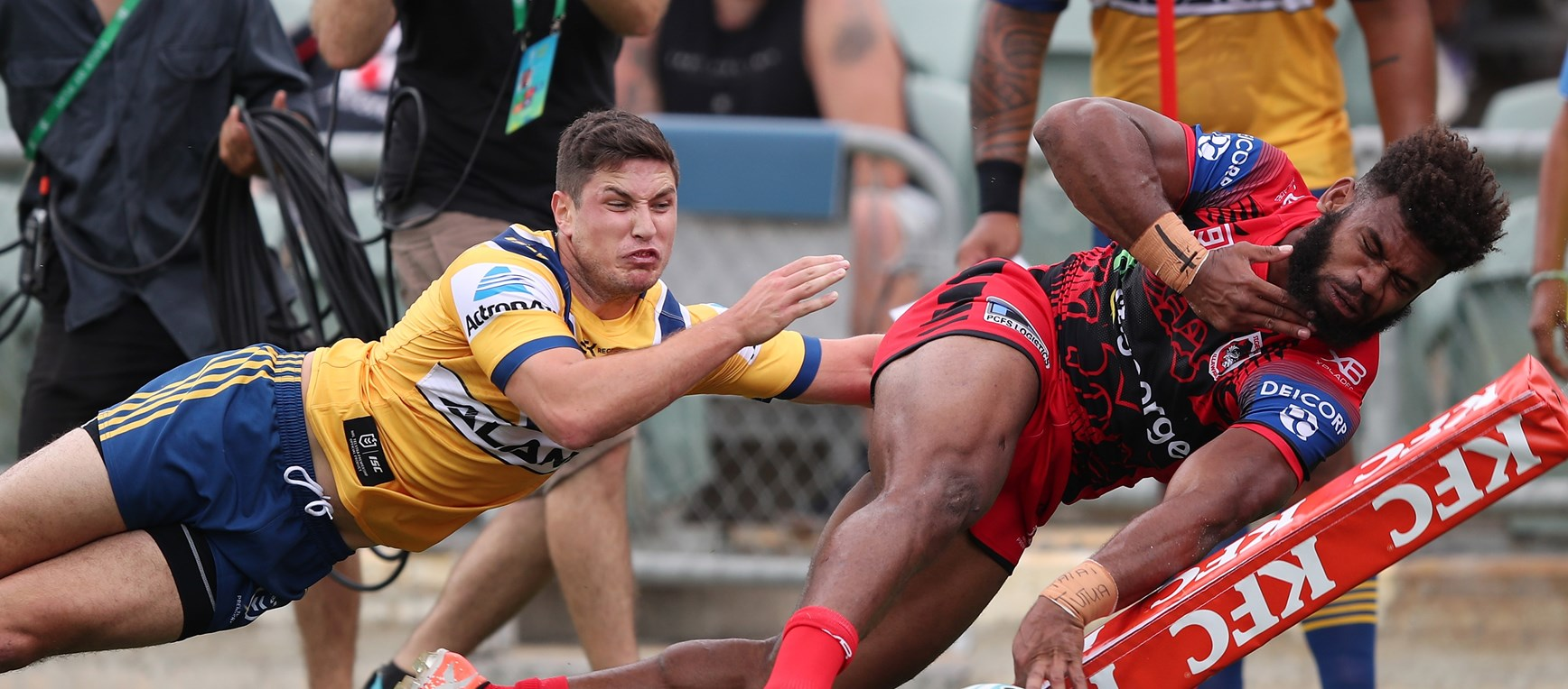 Eels v Dragons in photos
