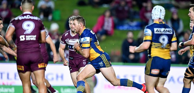 Sea Eagles v Eels in photos