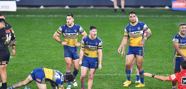 Eels v Panthers in photos