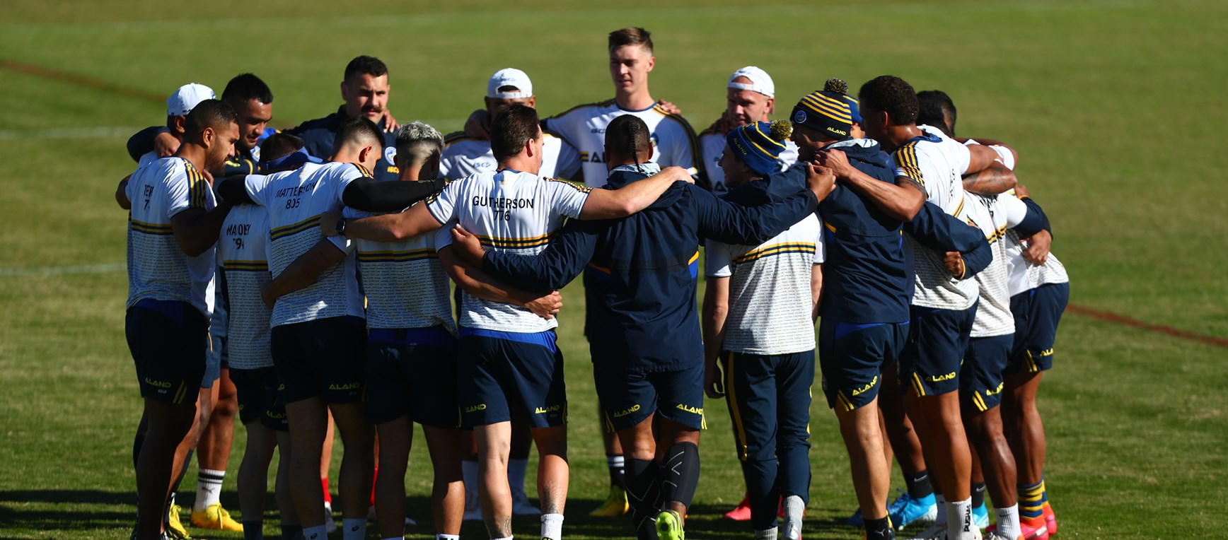 Captain's Run - Eels v Sea Eagles, Round Four