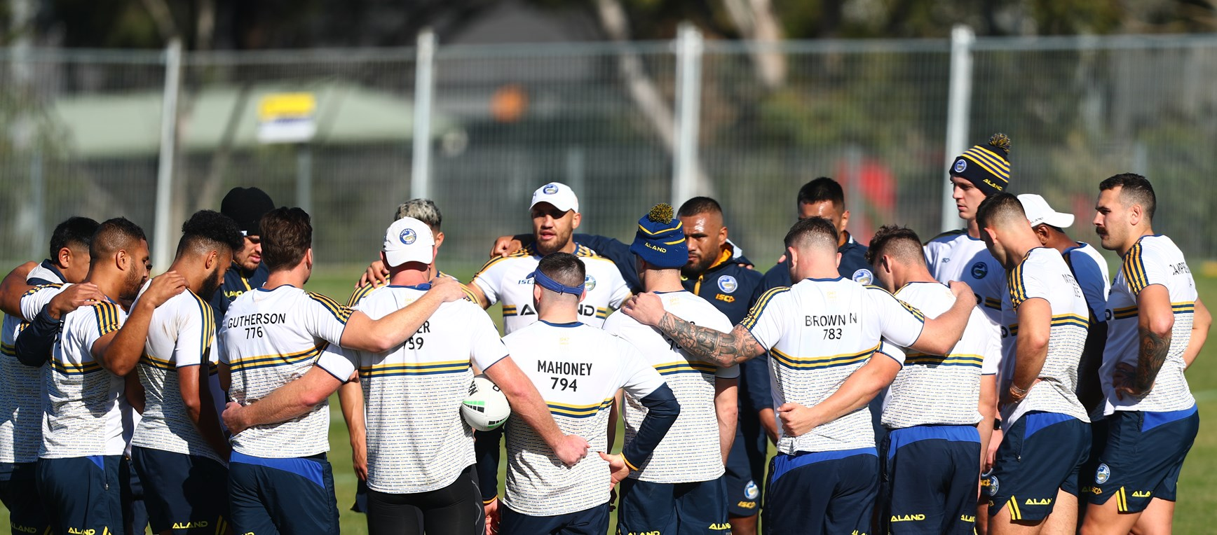 Captain's Run: Roosters v Eels, Round Six