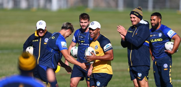 Eels begin preparation for Roosters clash