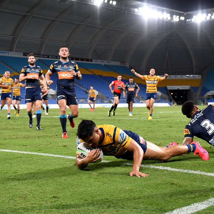 Titans v Eels, Round Two in photos