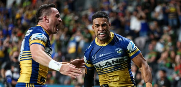 Eels v Rabbitohs, Semi Finals in photos