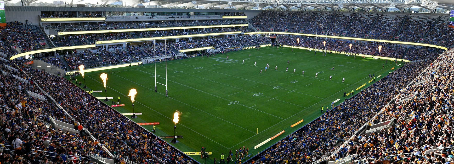 Transport included in Eels games at Bankwest Stadium